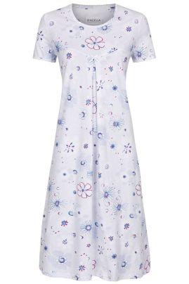 Cotton nightdress Light Blue