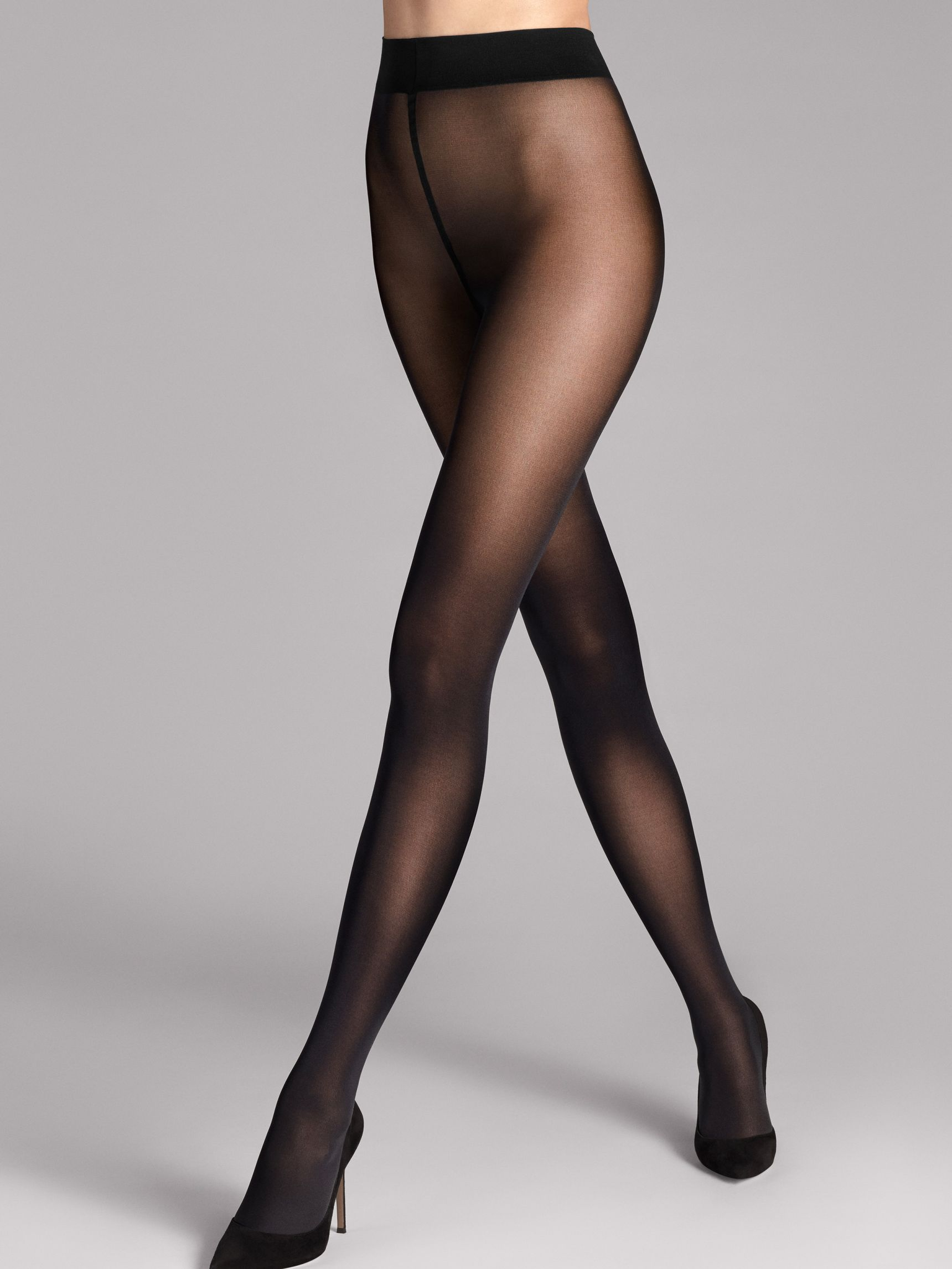 Pure 50 -sukkahousut Musta