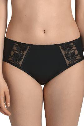 Safina korkea alushousu Musta