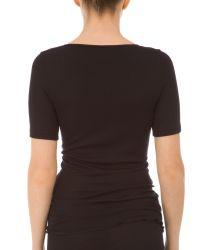 True Confidence villasilkki t-paita Musta