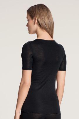 True Confidence woolsilk t-shirt Black
