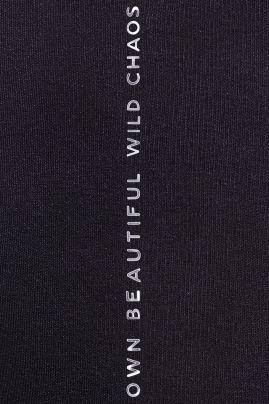 Emily -sukkahousut Black/Silver