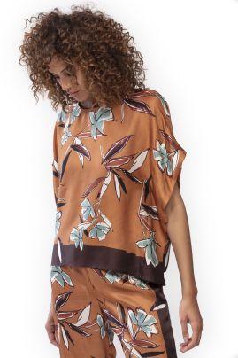 Samira silkkisekoite -pusero Bronze