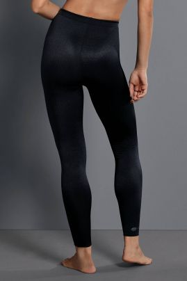 Urheiluhousu Massage Sport Tights Musta