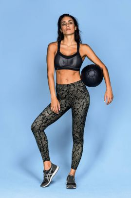 Urheiluhousu Massage Sport Tights Python