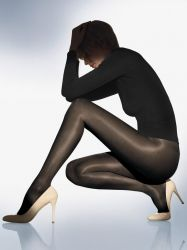 Satin Touch 20 -tights, 3 for 2 promotion, Black