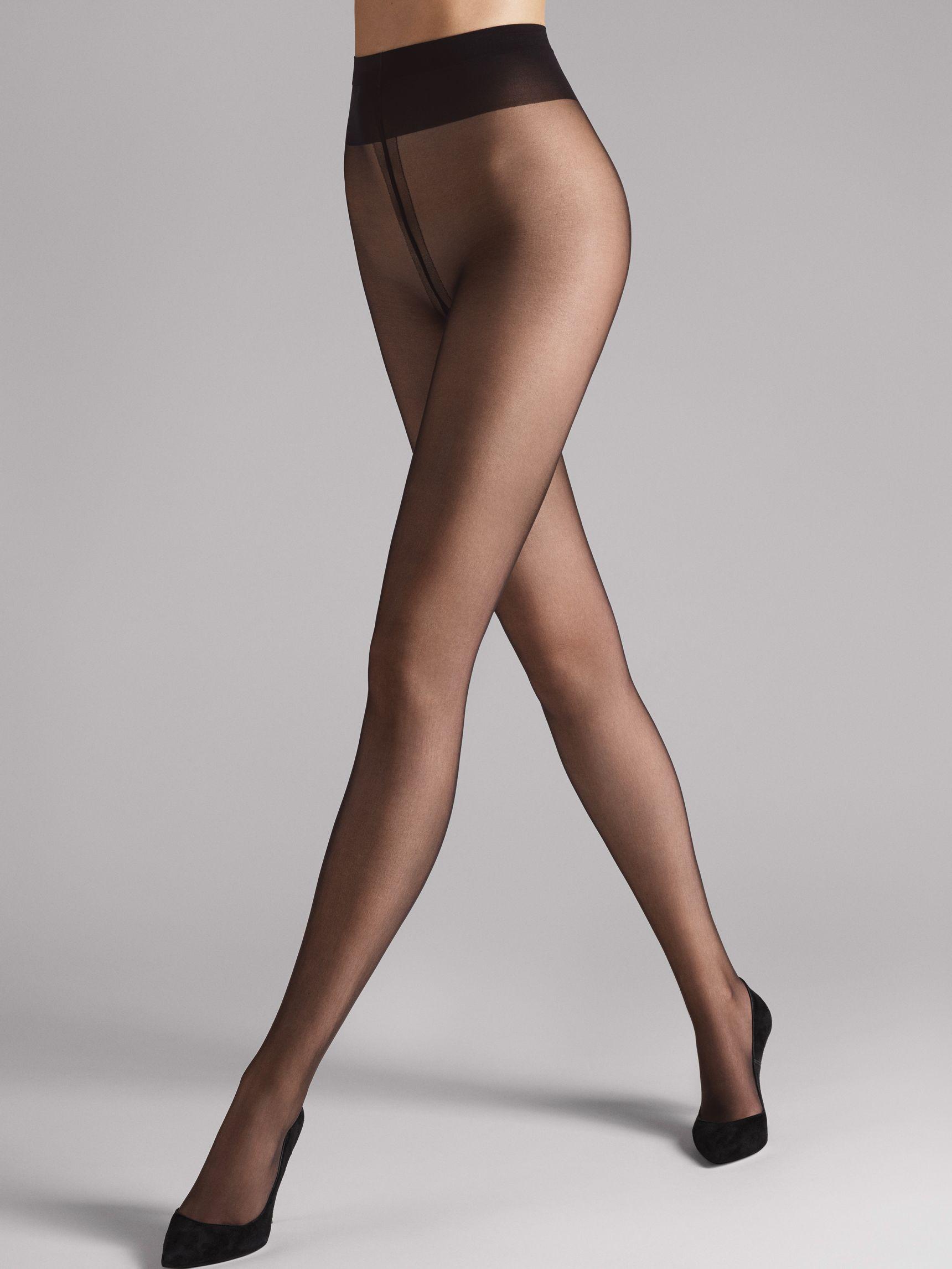 Individual 10 -sukkahousut Nearly Black
