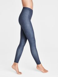 Taylor Cropped Leggings Heavy Blue