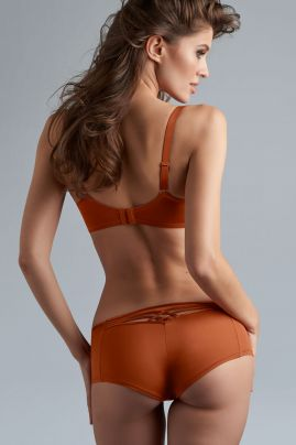 Dame De Paris brazilian shorts Cinnamon