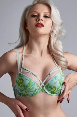 Jardin des Herbs push up bra