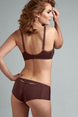 Dame de Paris brazilian shorts Chestnut Brown