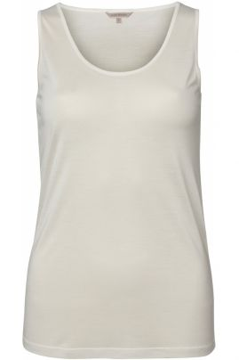 Pure Silk tank top Off-white