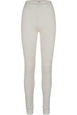Pure Silk leggings Luonnonvalkoinen