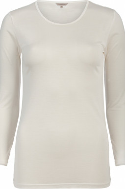 Pure Silk aluspaita Luonnonvalkoinen
