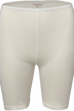 Pure Silk short pants Off-white