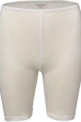 Pure Silk short pants Off-white