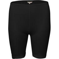 Pure Silk lyhytlahkeinen housu Musta