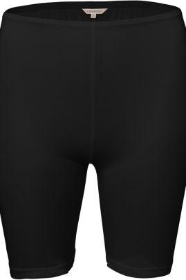 Pure Silk short pants Black