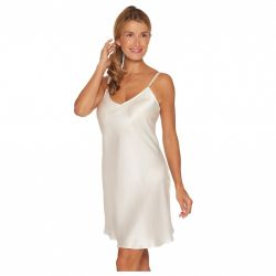 Pure Silk nightdress Off-white