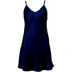 Pure Silk nightdress Navy