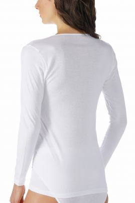 Noblesse pitkähihainen aluspaita Valkoinen