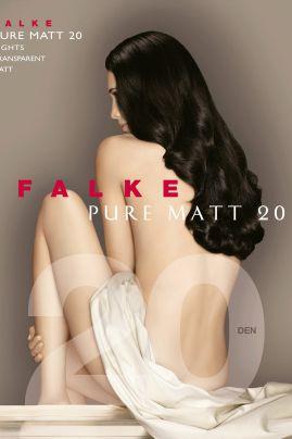 Pure Matt 20 den -sukkahousut Silver