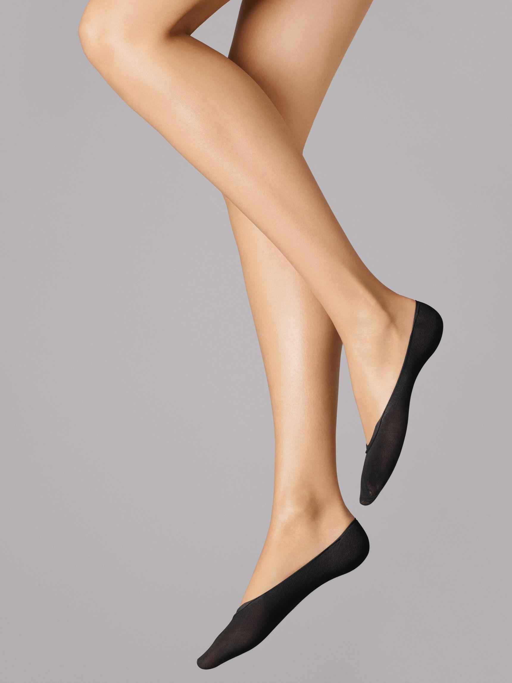 Cotton Footsies -sukat Musta