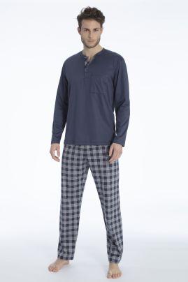 Quentin pyjama Jet Grey