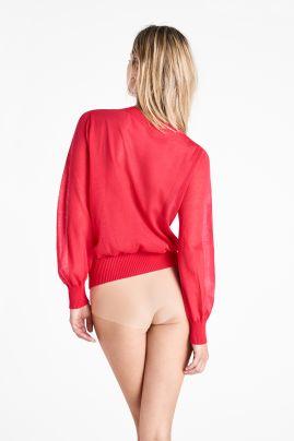 Light Shadow Pullover Poppy Red