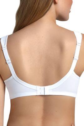 Clara kaaritueton rintaliivi Valkoinen