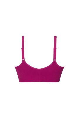 Lynn top bra with pockets Hot Pink