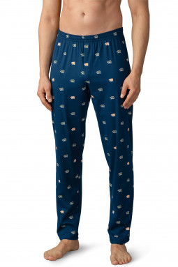 Valla pyjamahousut Yacht Blue