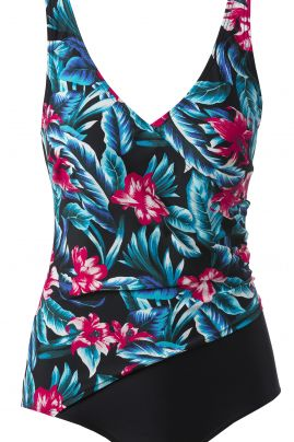 Aruba swimsuit with flowerprint