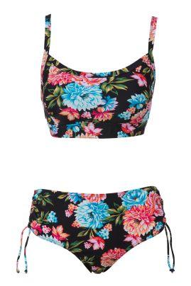Comino bikini with prosthesis pockets