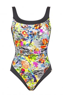 African Bloom mastectomy swimsuit