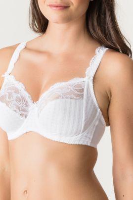 Madison täyskuppinen rintaliivi Valkoinen