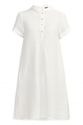 SOLINA tunic dress Off-White
