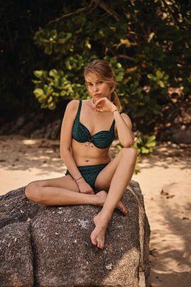 Hermine kaarituellinen bikini Smeraldo