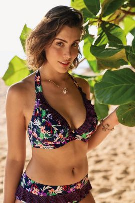 Lizzie kaarituellinen bikiniliivi