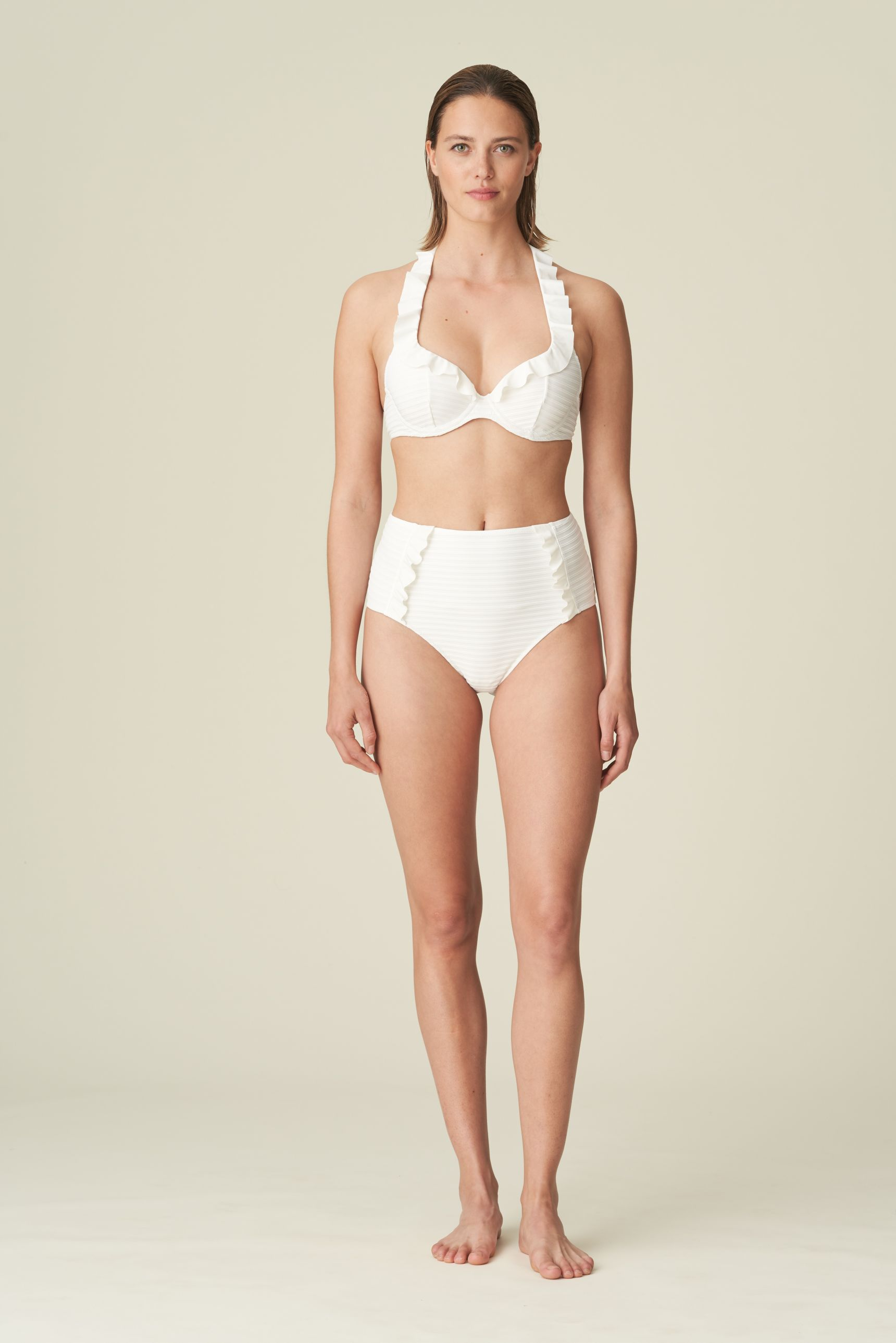 CELINE pisaramallinen bikiniliivi Natural