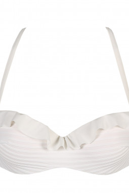 Celine topattu olkaimeton bikiniliivi Natural