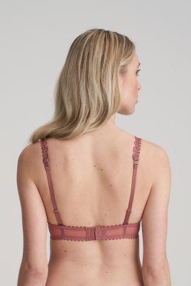 JANE pisaramallinen rintaliivi Red Copper