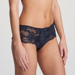 SYLVIA luxury string-housu Velvet blue