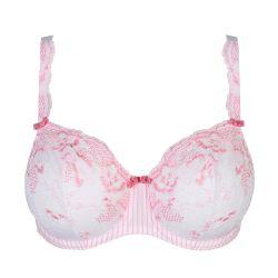 Nyssa balconette -rintaliivi pystysaumalla Sweet Pink