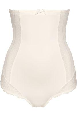 Couture korkea muotoileva housu Natural