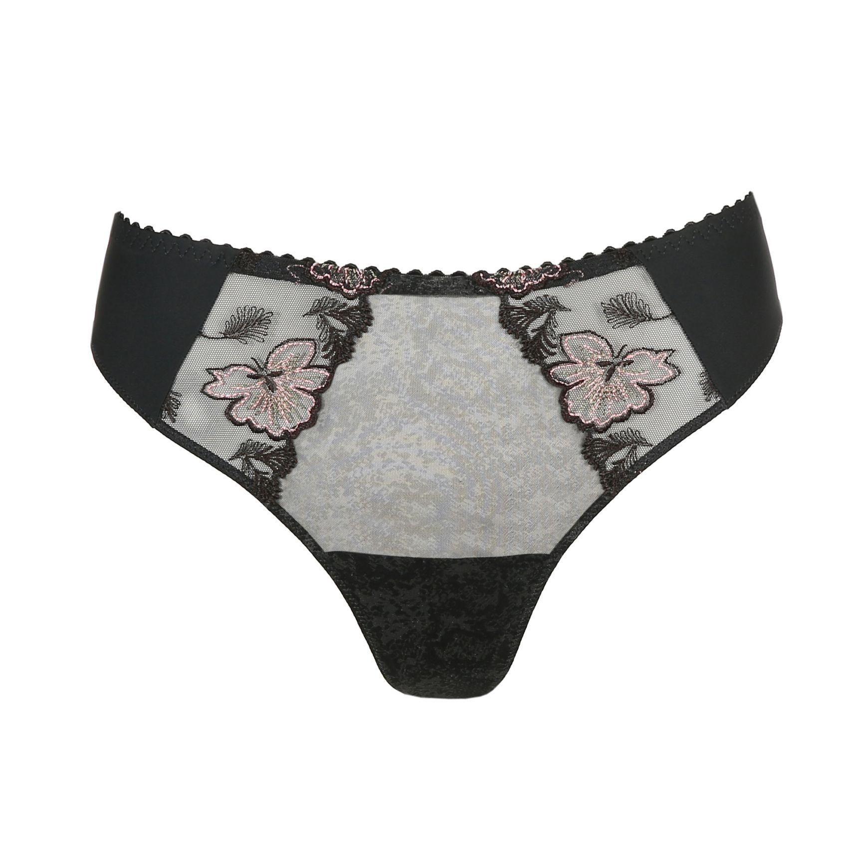 Wild Flower string-housu Night Grey