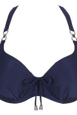 Sherry topattu täyskuppinen bikiniliivi Sapphire Blue