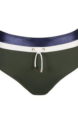 Ocean Drive korkea bikinihousu Dark Olive
