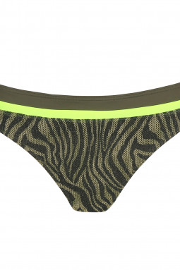 ATUONA rio bikini briefs Fluo jungle