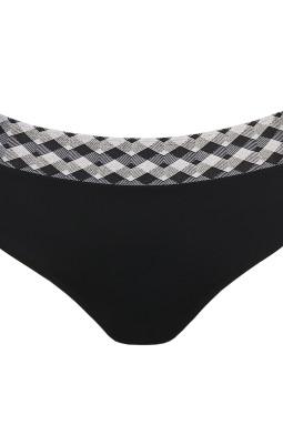 ASSILAH korkea bikinihousu Black Sand